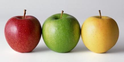 Pour mincir degustez des pommes avec la peau.