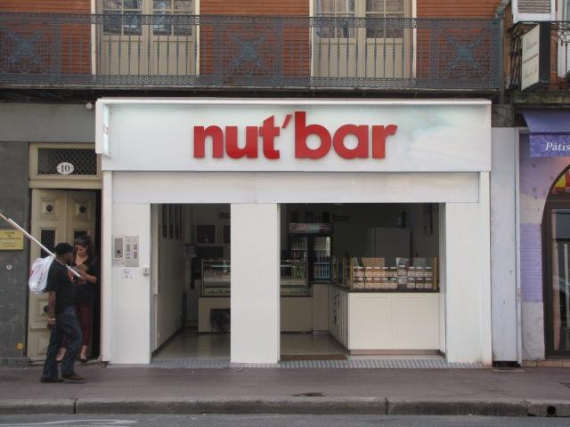 Nut Bar.