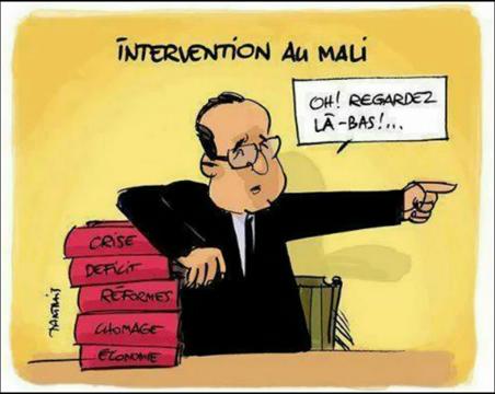 François Hollande qui ment, qui désinforme et qui censure