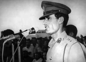 Kadhafi.