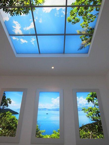 Ouverture au plafond 1