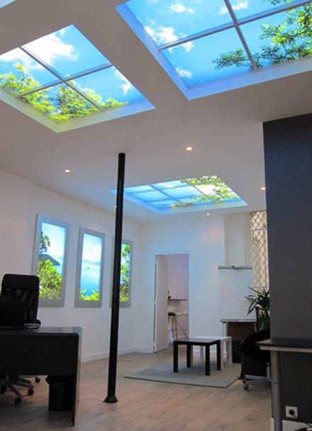Ouverture au plafond 2